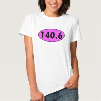 Óvalo del Triathlon del rosa 140,6 Playeras
