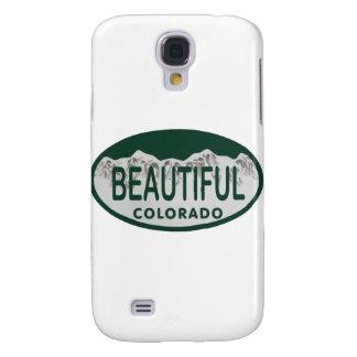 Óvalo hermoso de la licencia de Colorado Funda Para Galaxy S4