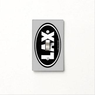 Óvalo LaCrosse de LAX Tapas Para Interruptores