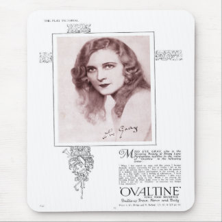 Ovaltine for Miss Gray Mousepad Mouse Mats