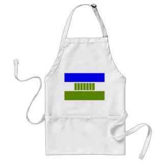 Ovambo people ethnic flag adult apron