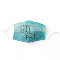 Ovarian Cancer Adult Cloth Face Mask