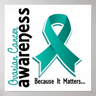 Ovarian Cancer Awareness 5 Poster
