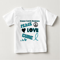 Ovarian Cancer Awareness Baby T-Shirt