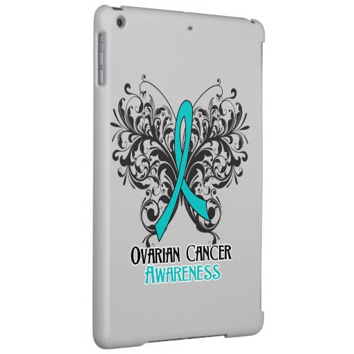 Ovarian Cancer Awareness Butterfly Case For iPad Air