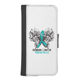 Ovarian Cancer Awareness Butterfly iPhone SE/5/5s Wallet