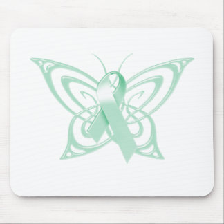 Ovarian Cancer Awareness Butterfly Mouse Pad