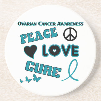 Ovarian Cancer Awareness Drink Coaster