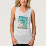 Ovarian Cancer Awareness Flowy Muscle Tank Top