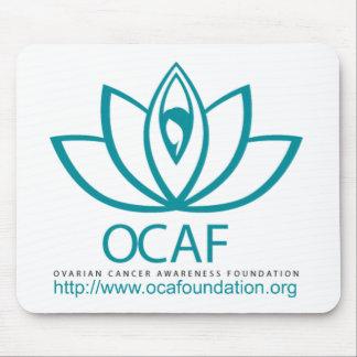 Ovarian Cancer Awareness Foundation Logo Line Mouse Pad