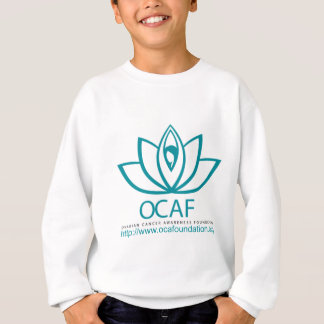 Ovarian Cancer Awareness Foundation Logo Line Sweatshirt