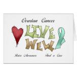 Ovarian Cancer Awareness Greeting Card