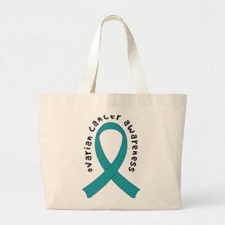 Ovarian Cancer Awareness Large Tote Bag
