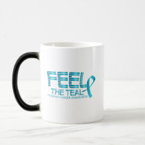 Ovarian Cancer Awareness Magic Mug