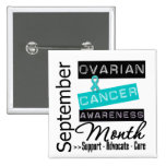 Ovarian Cancer AWARENESS Month 4 Button