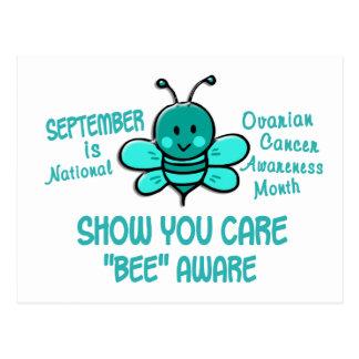 Ovarian Cancer Awareness Month Bee 1.1 Postcard