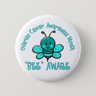 Ovarian Cancer Awareness Month Bee 1.2 Button