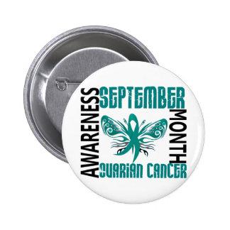 Ovarian Cancer Awareness Month Butterfly 3.4 Pins