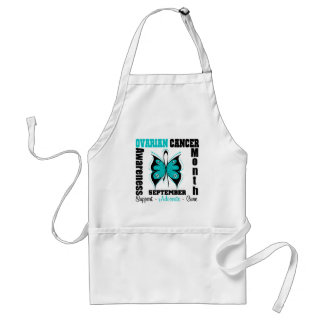 Ovarian Cancer AWARENESS Month Butterfly Aprons