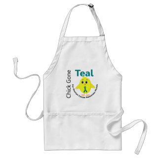 Ovarian Cancer Awareness Month Chick 1 September Adult Apron