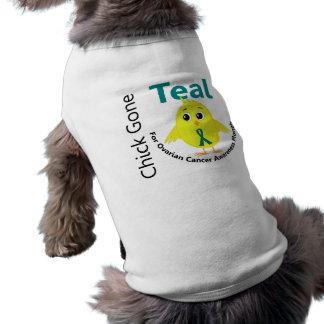 Ovarian Cancer Awareness Month Chick 1 September Doggie Tshirt
