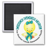 Ovarian Cancer Awareness Month Chick 1 September Refrigerator Magnet