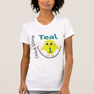 Ovarian Cancer Awareness Month Chick 1 September Tshirts