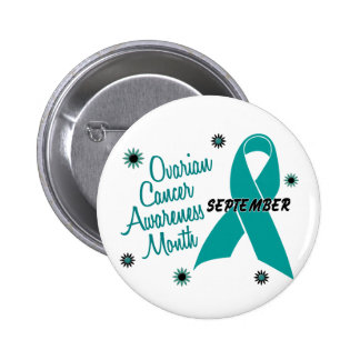 Ovarian Cancer Awareness Month Flowers 1 Pin