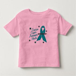 Ovarian Cancer Awareness Month Flowers 1 Toddler T-shirt