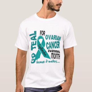 Ovarian Cancer Awareness Month GO TEAL T-Shirt