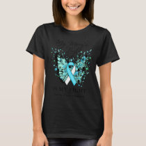 Ovarian Cancer Awareness My Mom's Fight My Fight T T-Shirt