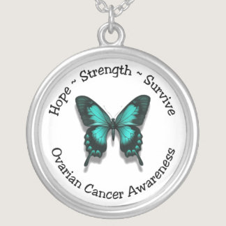 Ovarian Cancer Awareness Necklace