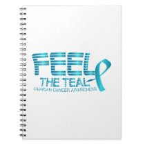 Ovarian Cancer Awareness Notebook