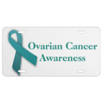 Ovarian Cancer Awareness plate