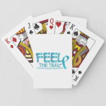 Ovarian Cancer Awareness Playing Cards