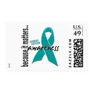 Ovarian Cancer Awareness Postage