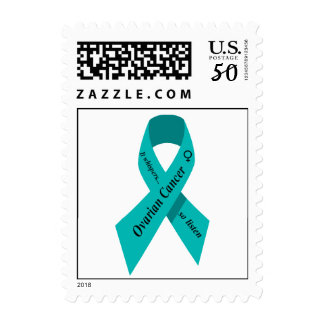 Ovarian cancer awareness postage stamp