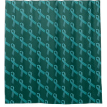 Ovarian Cancer Awareness Shower Curtain