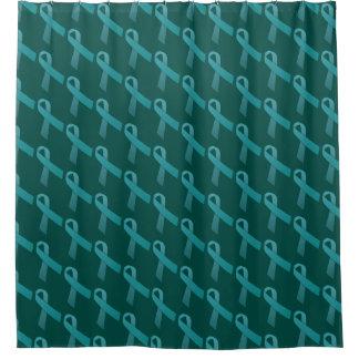 Ovarian Cancer Awareness Shower Curtain