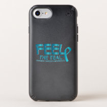 Ovarian Cancer Awareness Speck iPhone Case