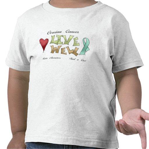Ovarian Cancer Awareness Tee Shirts