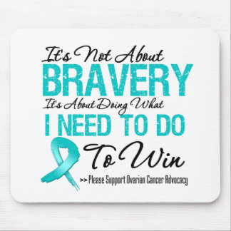 Ovarian Cancer Battle Mouse Pad