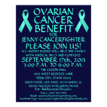 Ovarian Cancer Benefit Flyer