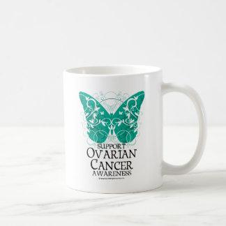 Ovarian Cancer Butterfly Coffee Mug