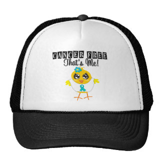Ovarian Cancer - Cancer Free That's Me Trucker Hat