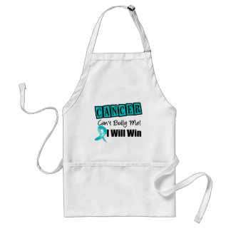 Ovarian Cancer Cant Bully Me I Will Win Apron