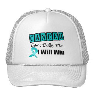 Ovarian Cancer Cant Bully Me I Will Win Trucker Hat
