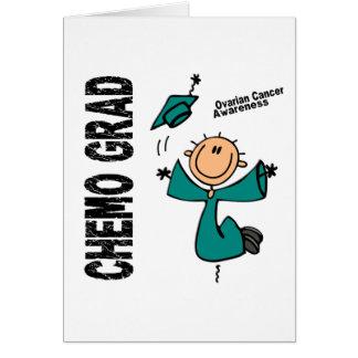 Ovarian Cancer CHEMO GRAD 1 Greeting Card