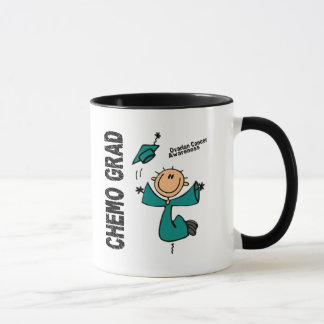 Ovarian Cancer CHEMO GRAD 1 Mug