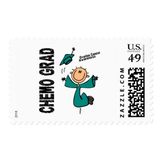 Ovarian Cancer CHEMO GRAD 1 Stamps